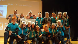 El equipo The Paws de Vera, semifinalista en robótica este año.