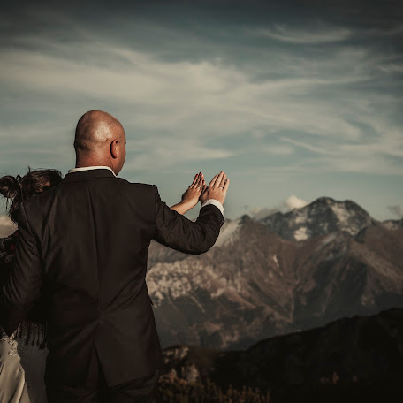 Wedding photographer Joanna Patek (Joannapatek). Photo of 20.01.2018