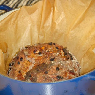 Blueberry Sunset Wheat Bread