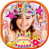Birthday Stickers for Photos 🎉 Sticker Pic Editor