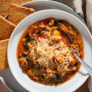 Hearty-Country-Style Minestrone Soup.