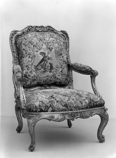 Armchair back