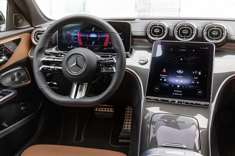 Under the enlarged body is a more luxurious and digitised interior. Picture: SUPPLIED
