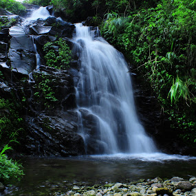 Watujadah Waterfall by Axl Digital's - Landscapes Waterscapes