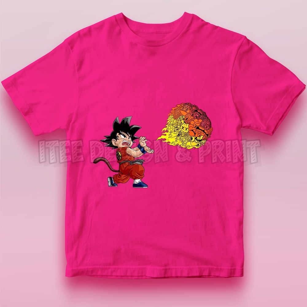 Goku Fireball Kamehameha Doodle 18