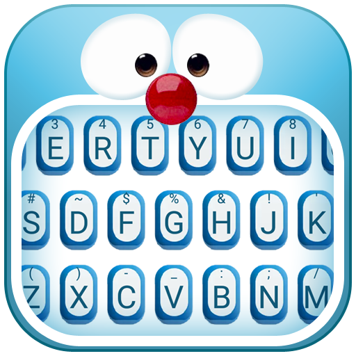 Blue Cat Theme&Emoji Keyboard