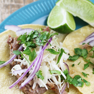 Slow Cooker Cuban Mojo Pork Tacos