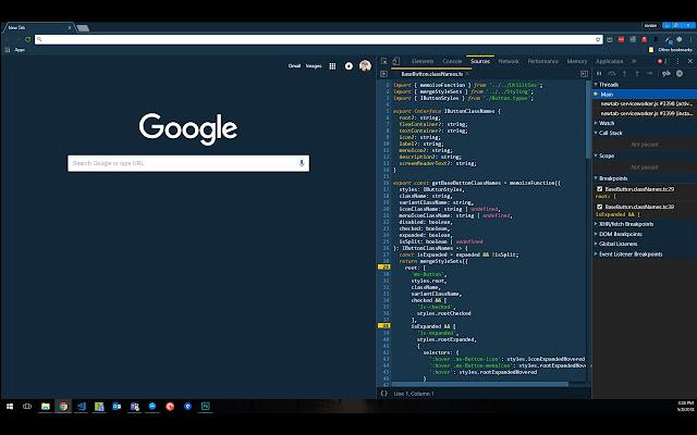 DevTools Theme: Cobalt2 Unofficial