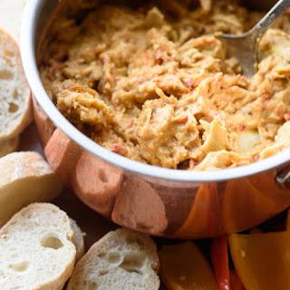 Hummus Artichoke Dip.