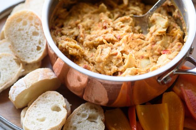 Hummus Artichoke Dip Recipe