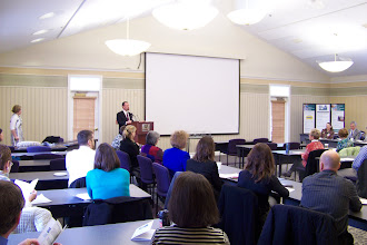 Photo: Maine Hospital Association President Steven Michaud providing remarks