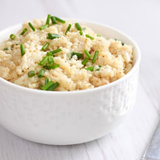 Low-carb Cauliflower Risotto.