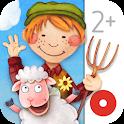 Toddler's App: Farm Animals icon