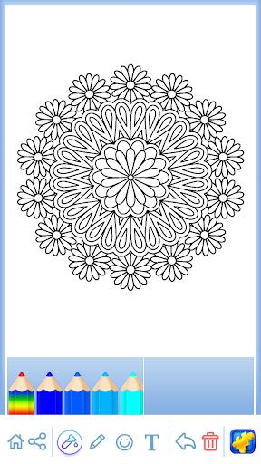 Mandala: Coloring for adults screenshots 13