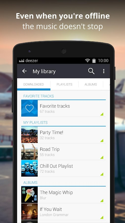 Deezer Music- screenshot
