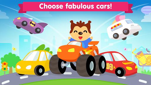 Car game for toddlers - kids racing cars games screenshot 1