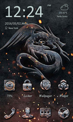 Ash Theme - ZERO Launcher