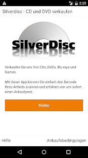 SilverDisc - verkaufe CD & DVD- screenshot thumbnail