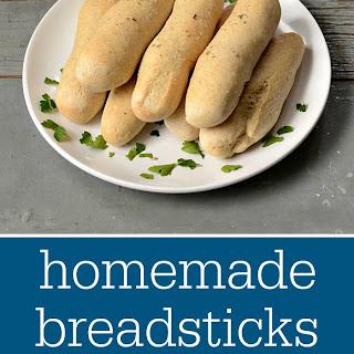 Homemade Breadsticks.