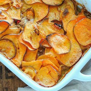 Sweet Potato Gratin.