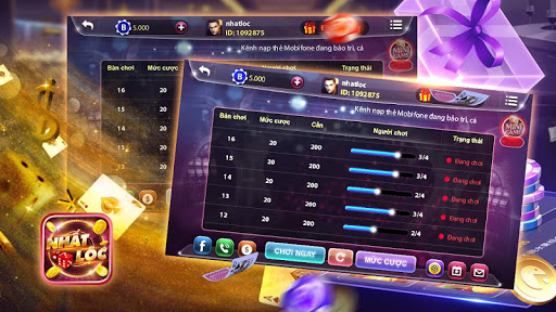 Game danh bai doi thuong Nhất Lộc Online screenshot 7