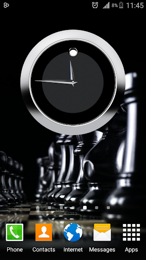 3D Clock Widget