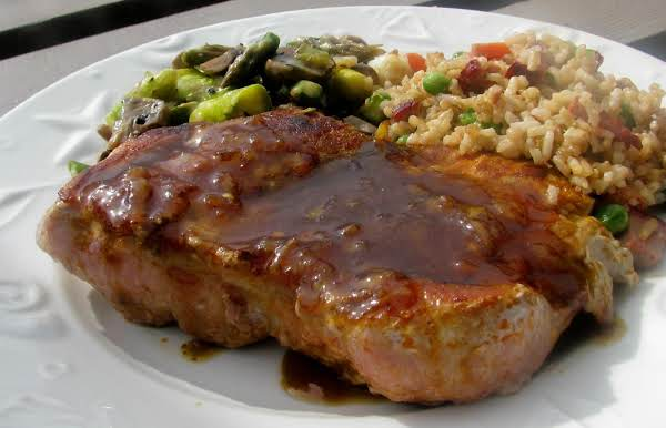 Pork Chops With Curried Orange Sauce Recipe
