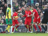 Liverpool FC wint op het veld van Norwich City