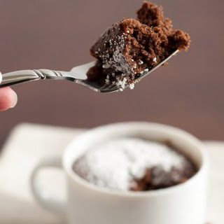 Chocolate And Coffee Mug Cake