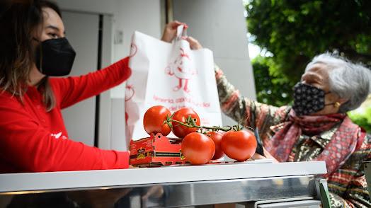 La venta de tomate ha sido un éxito.