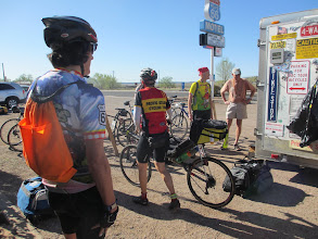 Photo: Riders ready to go