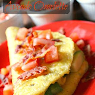Avocado Omelette