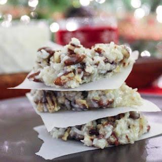 Holiday Praline No-Bake Cookies {THM-S, Low Carb, Sugar Free}.