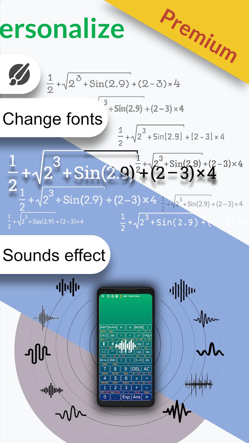 Free engineering fx calculator 991 es plus & 92 Screenshot 3