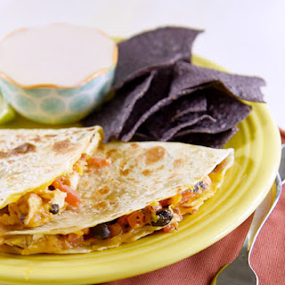 Flame Grilled Chicken Quesadillas.