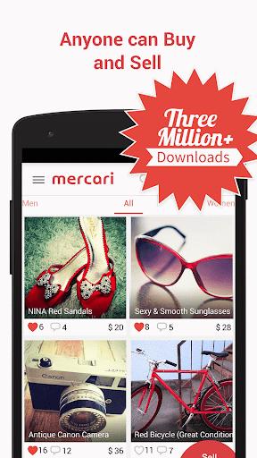Mercari: Anyone can buy sell