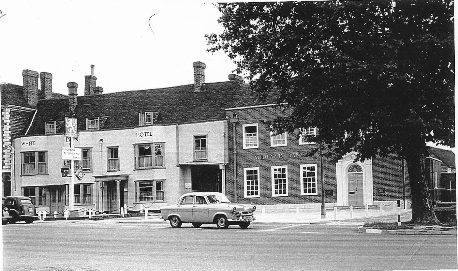 Tenterden Archive photos White Lion Hotel area Tenterden High Street