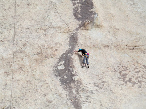 Photo: Climber