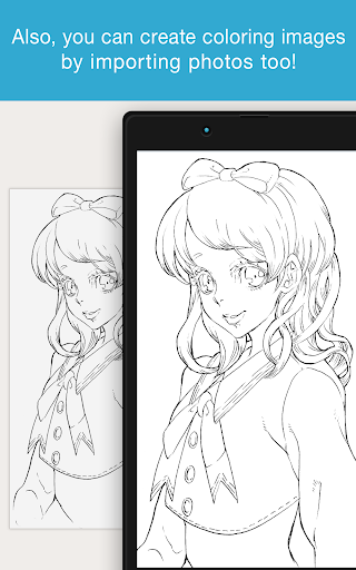 MediBang Colors coloring book 1.0.4 screenshots 5
