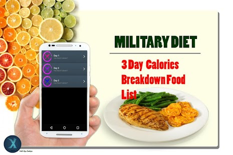 3 Day Military Diet Plan - náhled