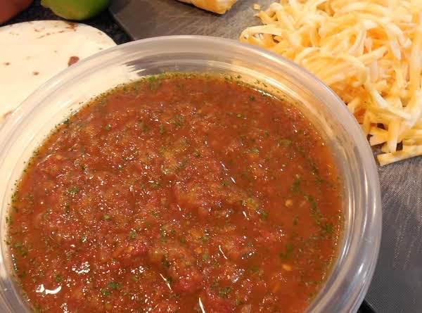 Jackie's Salsa Recipe
