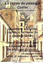 Photo: Samedi 20 Sept. 2003 - 13° édition du repas du passage Cottin