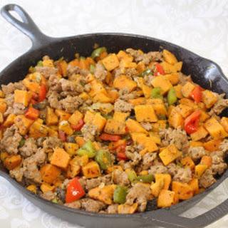 Sweet Potato Sausage Skillet