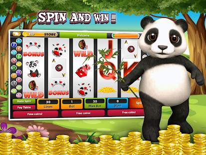 free mystic panda slots for android