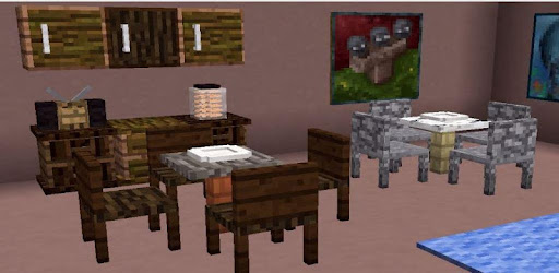 minecraft pe furniture mod download zip