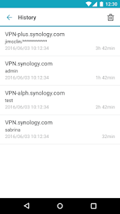 Synology VPN Plus- screenshot thumbnail