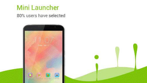 Mini Launcher - small & fast  screenshots 1