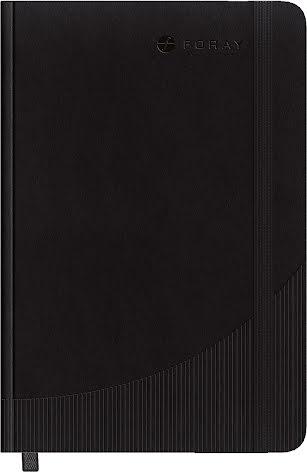 Anteckningsbok A5 linj svart