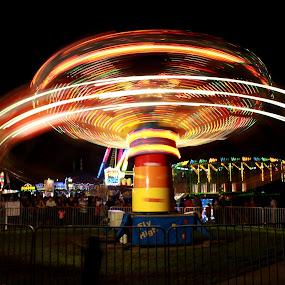 colored wheel by Sunil Pawar - City,  Street & Park  Amusement Parks ( lights, wheel, color, night, mood factory, lighting, moods, colorful, light, bulbs, mood-lites,  )