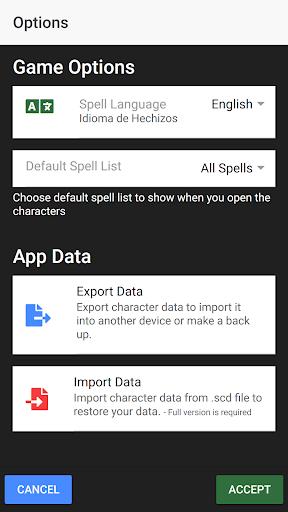 D&D Spell Cards screenshots 3